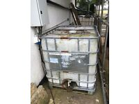 1000lt water storage / IBC