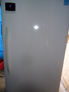 """FROST FREE UPRIGHT FREEZER  """"AS NEW"""" $400."""