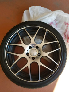 19 inch wheels set with tires
