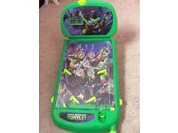 Teenage Mutant Ninja Turtles pin ball game £3