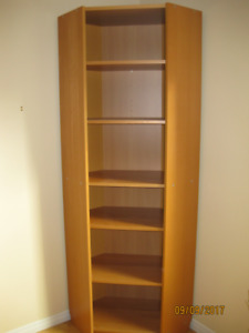 Ikea Billy Corner Bookcase and Height extension unit