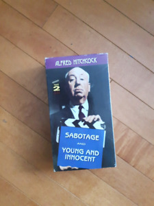 Alfred Hitchcock VHS double