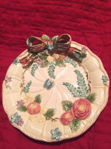 assiettes vintage Fitz and Floyd plates