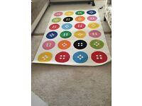 TÅSTRUP Rug, low pile, multicolour, 133x195 cm