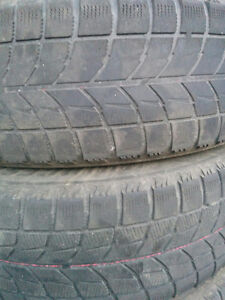 Snow tires with steel rims / $200.00 OBO Kawartha Lakes Peterborough Area image 4