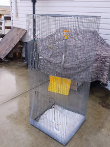 Bird Cage and all the fixings