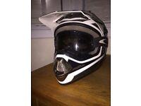 Motocross Helmet & Goggles