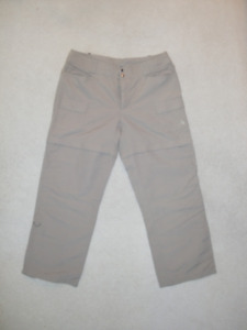 NEW NORTH FACE WOMEN'S HIKING/OUTDOORS CONVERTIBLE PANTS- SIZE12