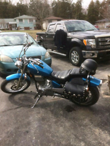 Road ready motorcycle for sale or trade for boat package