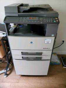 Konica Minolta Bizhub 181 Printer Scanner