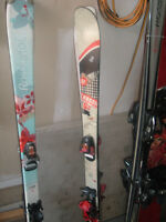 140 cm Blue Rossignol Skis - Great Condition!