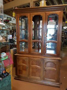 China Cabinets, and Corner Cabinets see photo's for choices