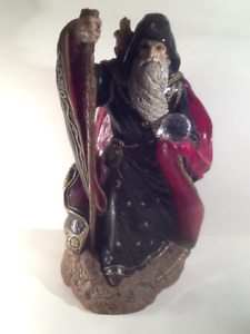 Wizard with Baby Dragon Statue Windstone Editions by M. Pena