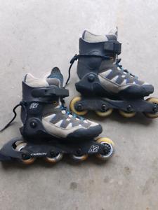 K2 rollerblades boys sz6