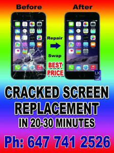 cell phone repair  beside woodbine park