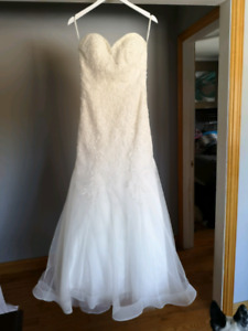 Wedding dress ,vail and shoes