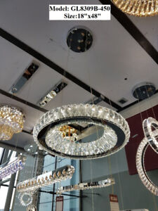 Brand New Crystal Chandeliers With Lowest Price Guarantee