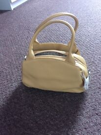 Vintage Radley small mustard bag
