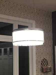 Brand new 23' crystal/chrome Dining light Kitchener / Waterloo Kitchener Area image 2