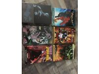 Mint condition comic collection