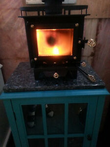 Cubic Mini Wood stove (Not a toy is a real wood burning stove) Kawartha Lakes Peterborough Area image 3