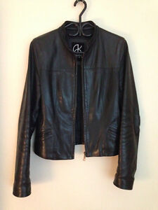 Spring-fall leather Jacket