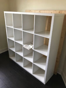 6 MONTHS NEW -IKEA KALLAX Shelf unit, white