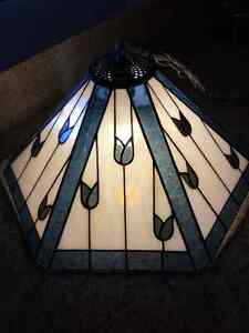 Custom Stained Glass Ceiling Light