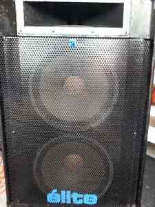 PA Equipment, pkg sale only,, will consider offers