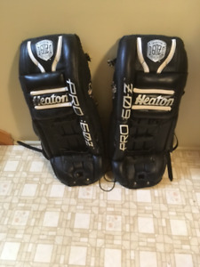Heaton Goalie pads,  33 inches,  $125