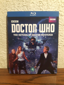 Doctor Who bluray