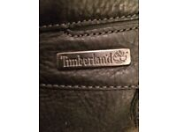 Men's all leather black timberlands size 12