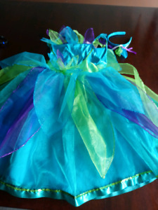 fairy costume with glitter. Size 7/8