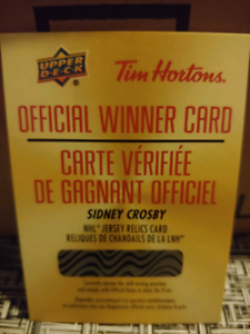 Tim Hortons 2019-2020 hockey cards  mise à jour 15 oct 19h20pm