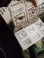 Random variety hockey cards