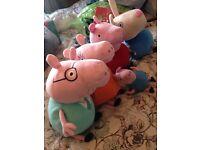 Peppa Pig Plush Toy Teddy Set