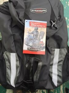 Motorcycle backpack new with tags