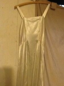 White silk? Dress