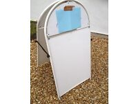 A-Board Metal outside sign display
