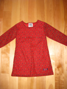 Jolie petite robe rouge 3 ans,marque Kaboo