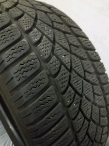 4 WINTER TIRES  ( HIVER ) ( 225 / 45r / 17 ) GOOD CONDITION