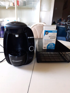 Tassimo T20 with T Disk drawer and descaling powder