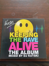 Keeping the rave alive vol.1 mixed by kutski also signed