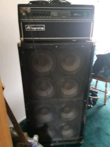 AMPEG SVT-350H HEAD & 8x10 CABNET For Sale
