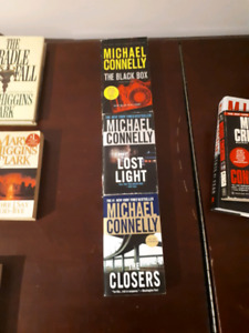 Michael Connelly, Michael Crichton etc