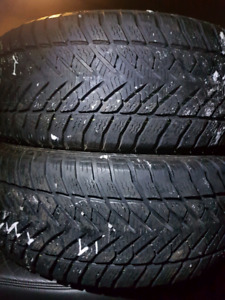 2 WINTER TIRES  225/55/17