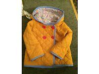 Mini boden 12-18 months coat