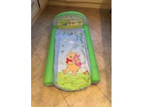 My first ready bed. Disney Winnie the Pooh inflatable toddler bed