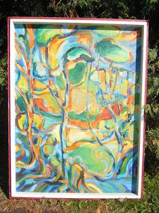 Wooow 1 tableaux du peintre André Robert de St Hyacinthe