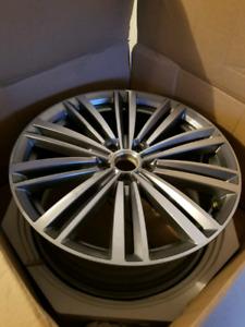 "VW Volkswagen Passat 19"" alloy rims OEM factory 5x112.Jetta.Golf"